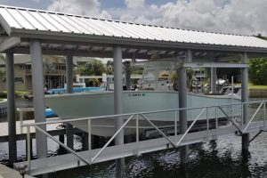 Palm Harbor - Dock (synthetic decking) , Lift, Boathouse